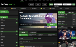 betway cricket betting