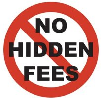 No hidden fees picture