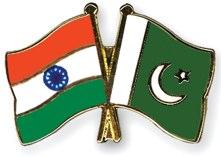 India & Pakistan flag