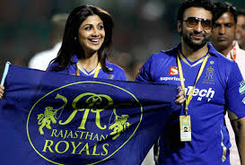 RR owners Shilpa Shetty and Kundra