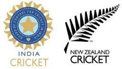 India & New Zealand cricket team flag