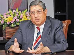 Former BCCI President N Srinivasan