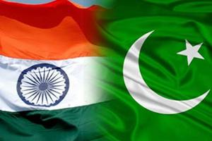 India's & Pakistan's flag