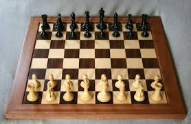 A game of chess at FIDE Olympics
