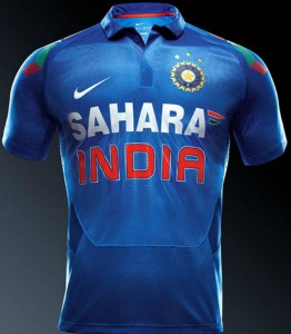 Indian Cricket Team Jersey - WCC 2015