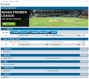 winner cricket betting