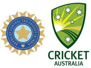 BCCI & Cricket Australia flag