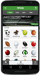 Betway cricket betting mobile app