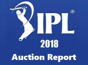 ipl 2018 auction report