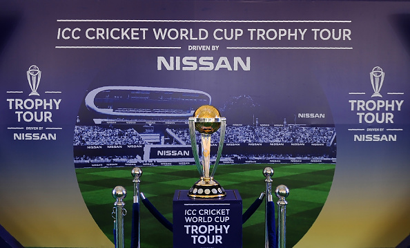 2020 ICC World Cup trophy