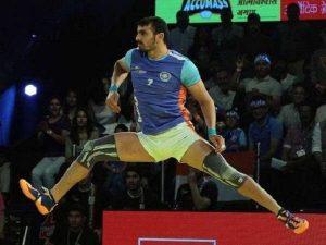 Kabaddi player Ajay Thakur
