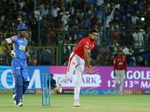 R Ashwin pulling off mankad