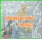 cricket betting strategy