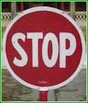 problem gambling stop sign