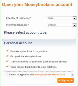 money bookers india
