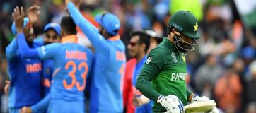 Pakistan's Defeat By India Limits Their Final Four Chances