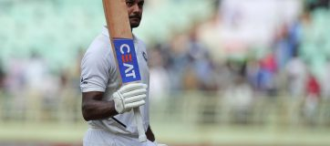 Freedom Series Player Ratings for India, Second Test