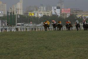 Indian Derby Horse Race at Mahalaxmi Racecourse