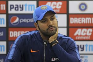 Rohit Sharma wasn't picked in the side in India tour to Australia