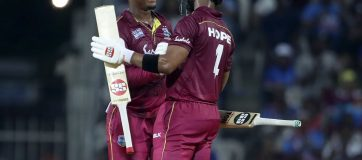 West Indies topple hosts India in Chennai