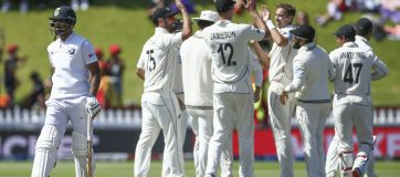 Kiwis Pummel India by 10 Wickets; Take Series Lead
