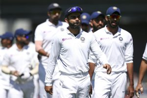 Virat Kohli and other Indian cricket team players