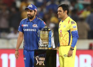 Mumbai Indians favorites with odds of 1.72