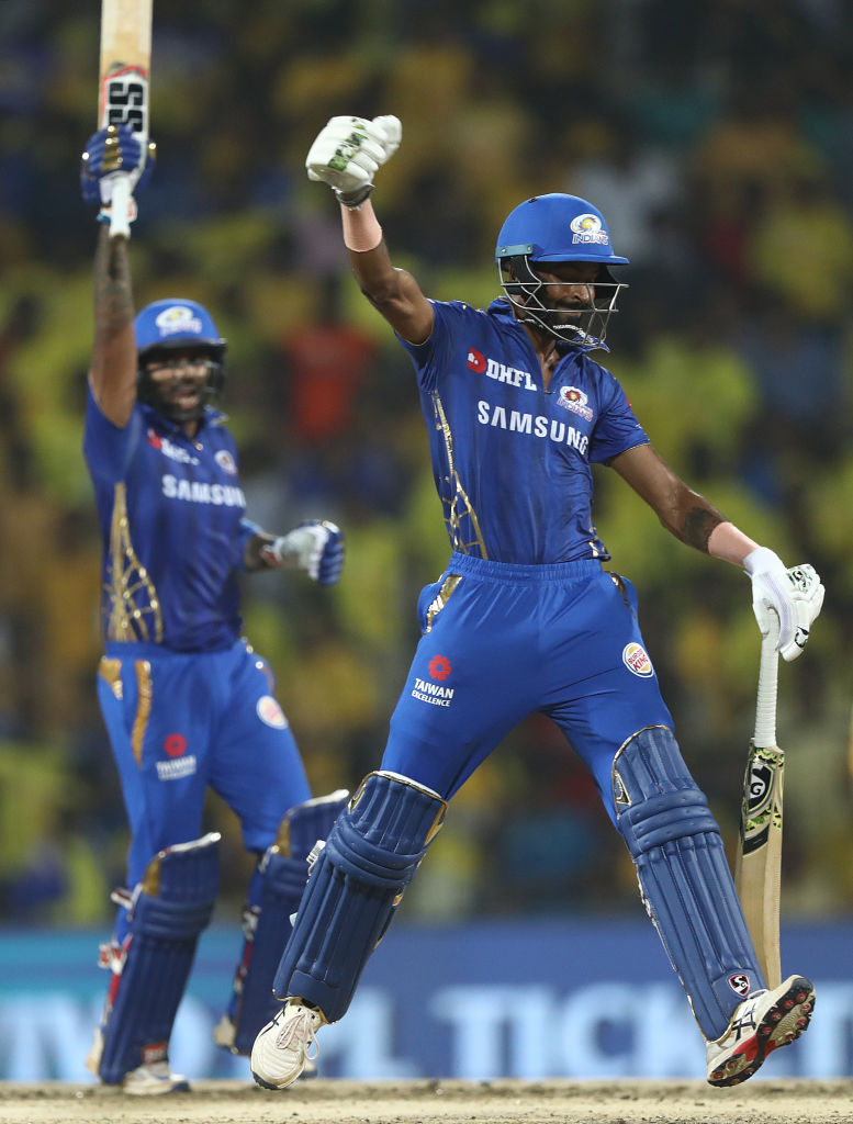 Mumbai Indians player Hardik Pandya